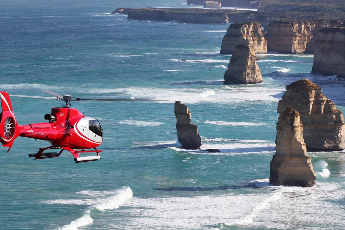 멜버른-헬기투어