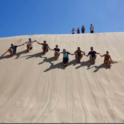 포트스테판-모래썰매